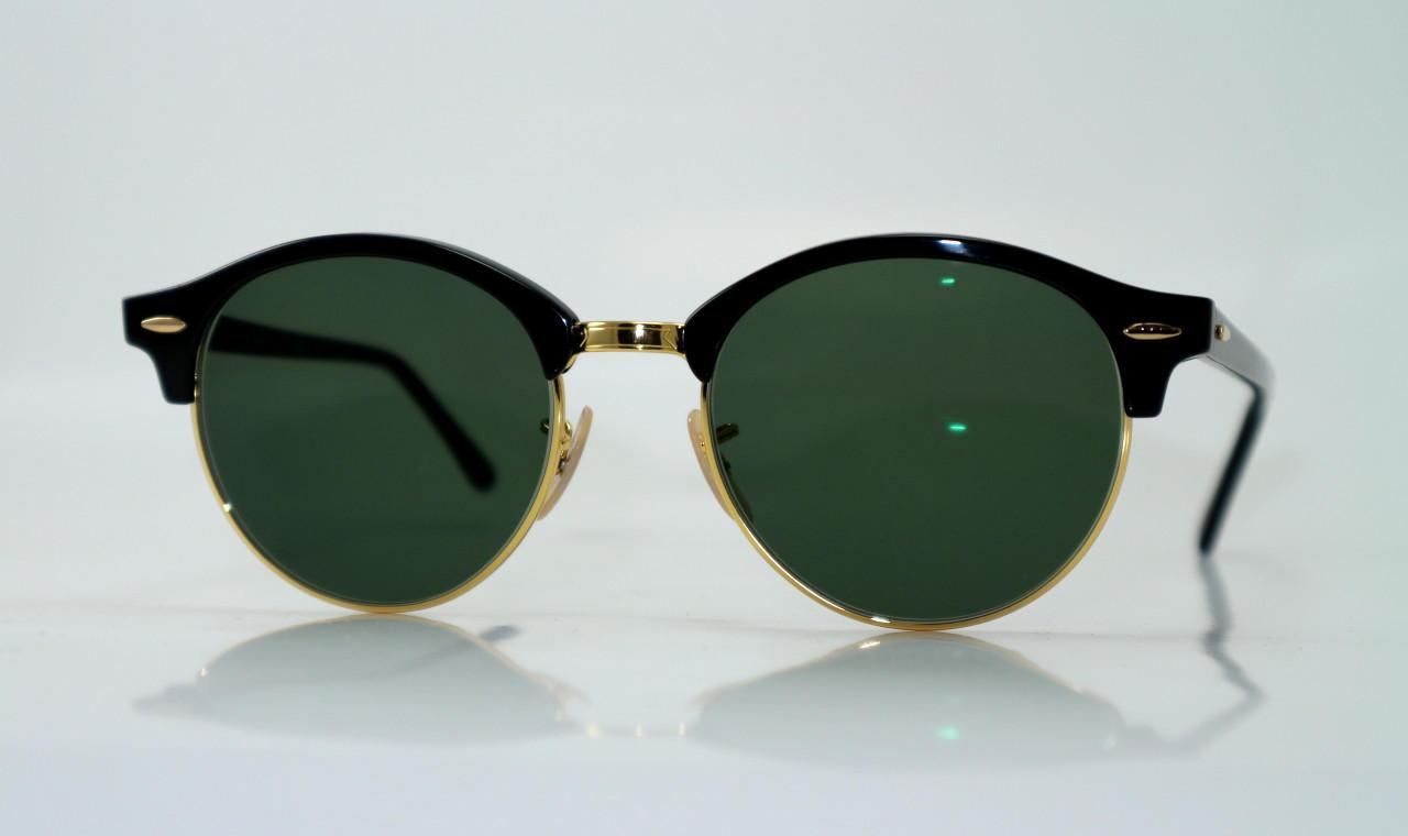Ray-Ban zonnebril met G15-groene glazen op sterkte